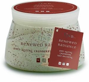 Cranberry Salt Brushing - Cranberry Salzpeeling (Salzbürsten)