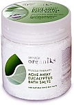 Organiks Ache Away Eucalyptus Bath Salts - Totes Meer Eukalyptus Badesalz