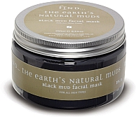 Black Mud Face and Body Mask - Maske aus schwarzem Schlamm